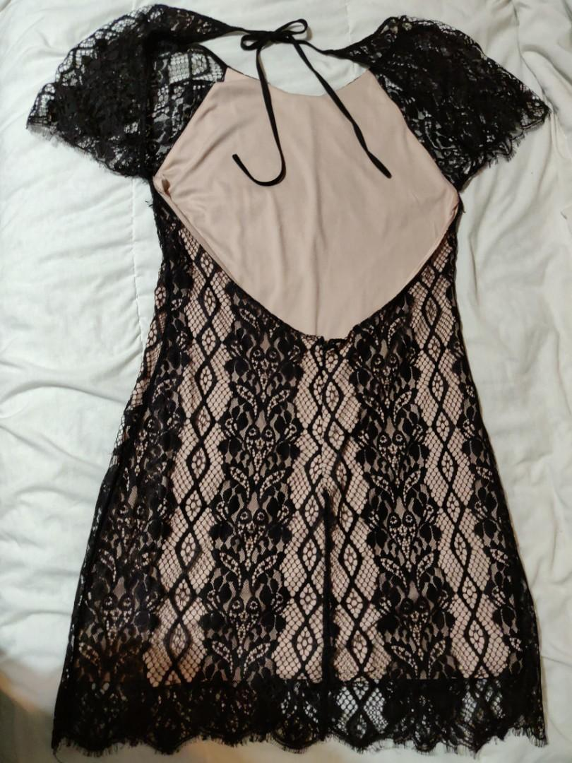 Forever21 Backless Lace Dress