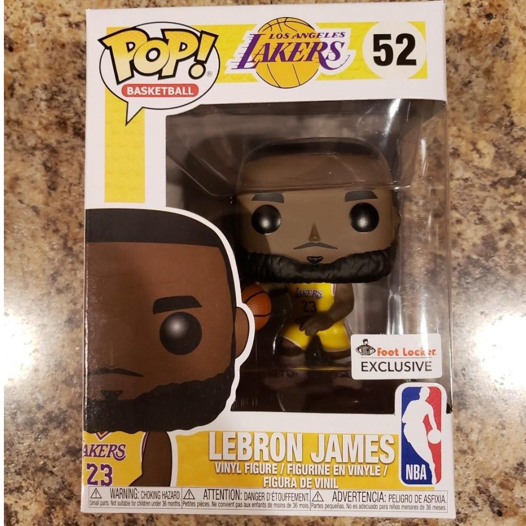 7bf69ba66eb FUNKO POP! LeBron James Lakers  52 Foot Locker Exclusive