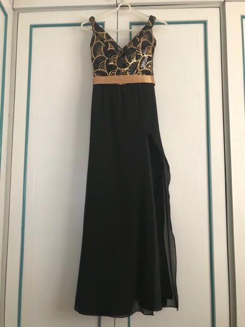 High Slit Long Gown