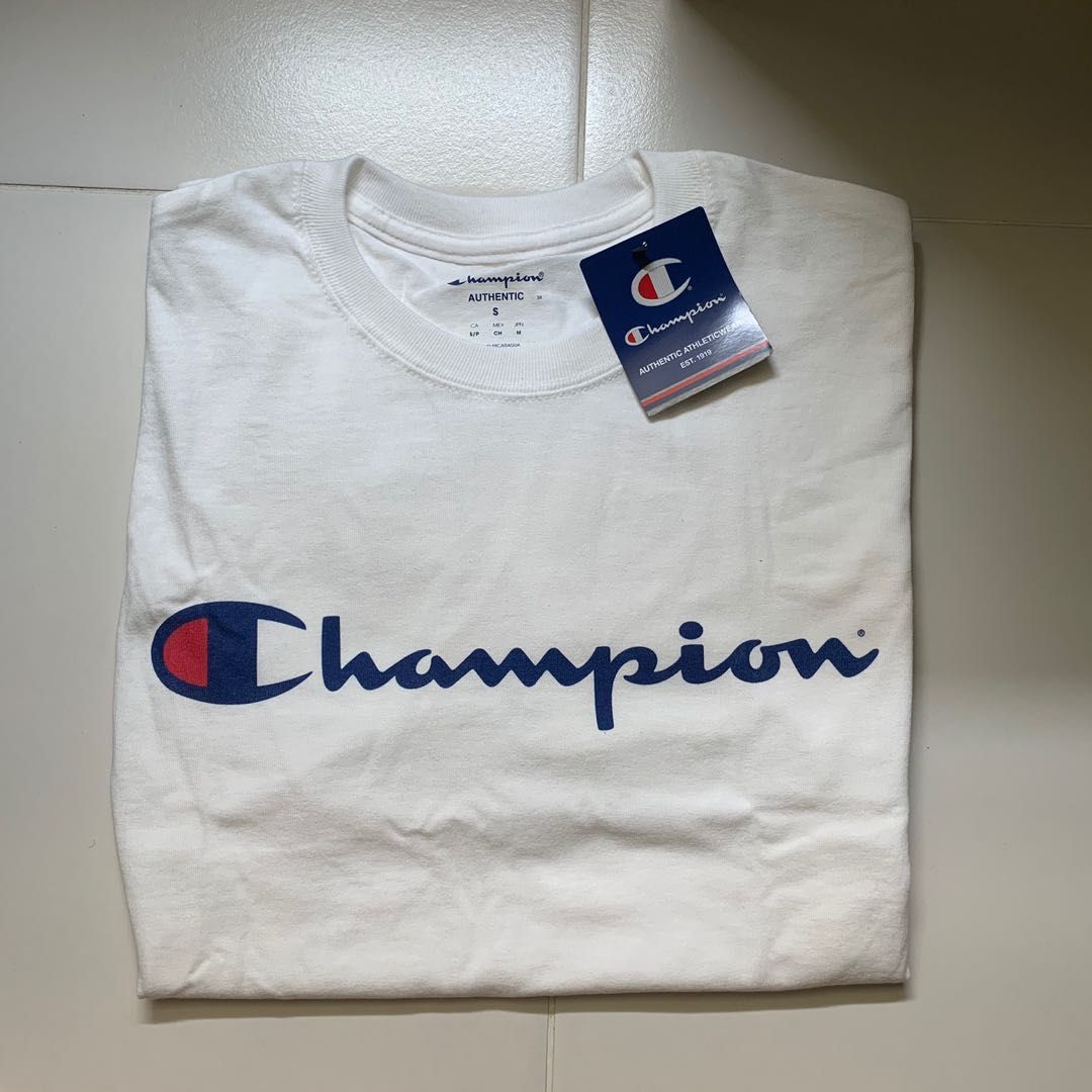 427cdb47 Instock] Champion T Shirts 2 for 80 may reserve also!, Men's Fashion ...