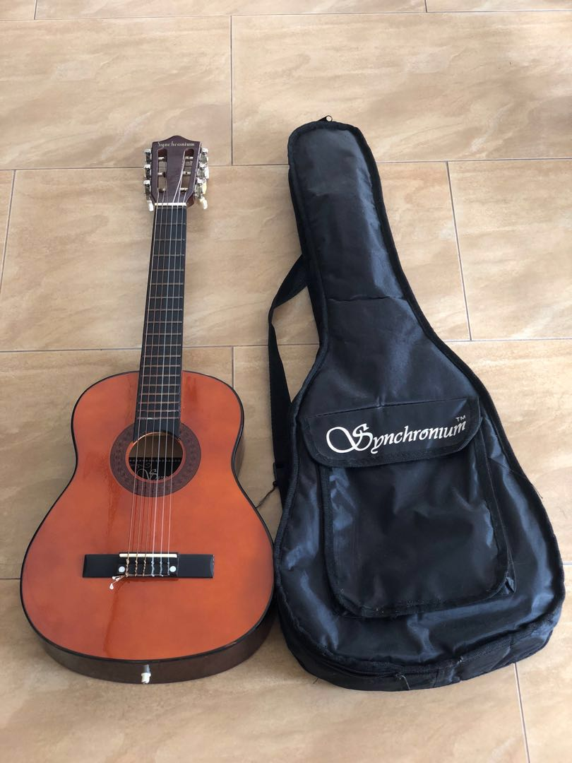 2f7d0543fe Kids classic guitar, Music & Media, Music Instruments on Carousell