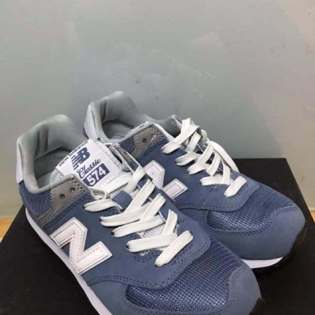 New balance 574 blue ?? 100% classics ?? abc mart