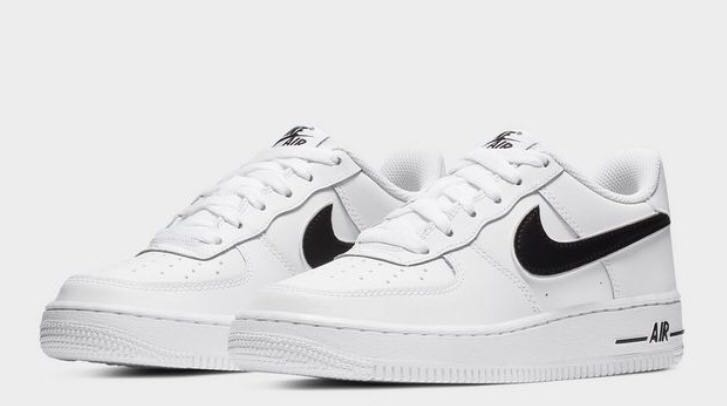 new concept 9191c 56c1f PO) Nike Air Force 1 women white black, Women's Fashion ...