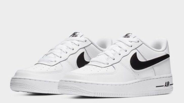 air force 1 white and black womens