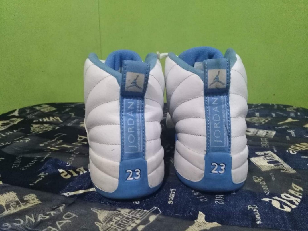 f3c493b44ce Nike Air Jordan Retro 12 XII preschool carolina sky blue
