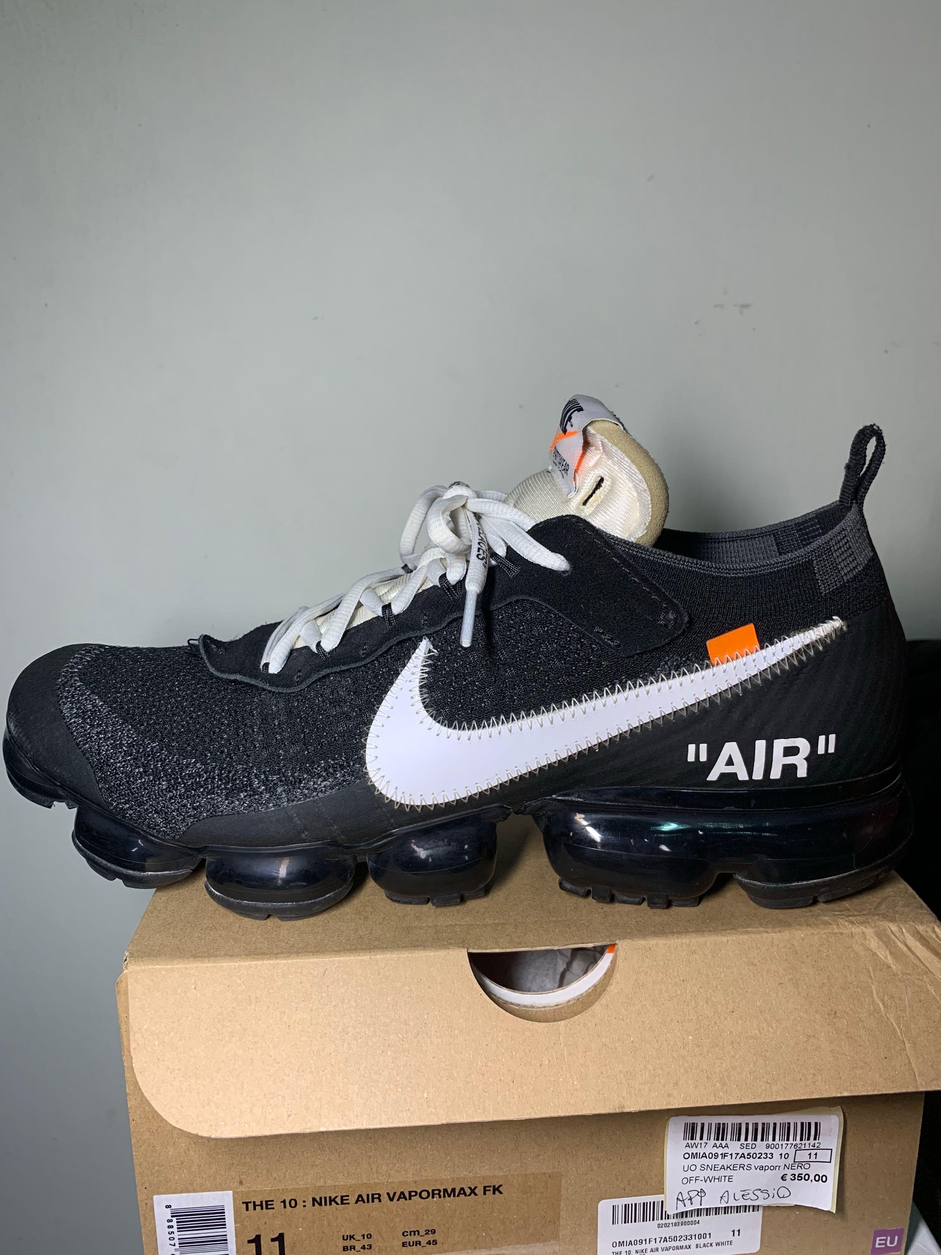 3a3acfcec92 Nike x Off White Vapormax OG US11