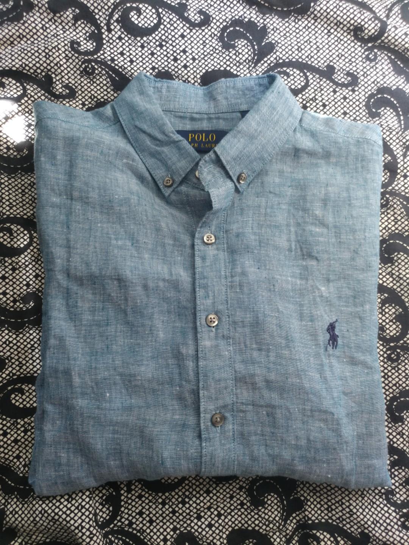 388d3301 Ralph Lauren Linen Shirt Blue | Azərbaycan Dillər Universiteti