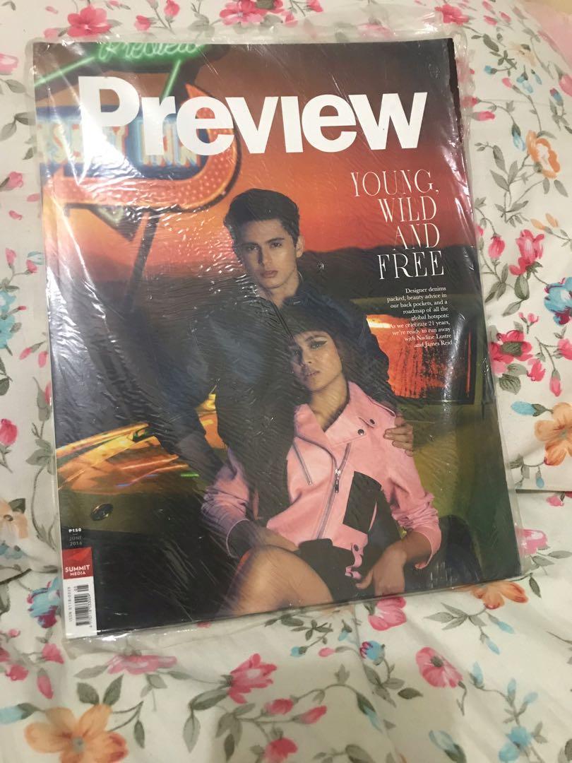 Preview Magazine: JADINE (James Reid and Nadine Lustre)