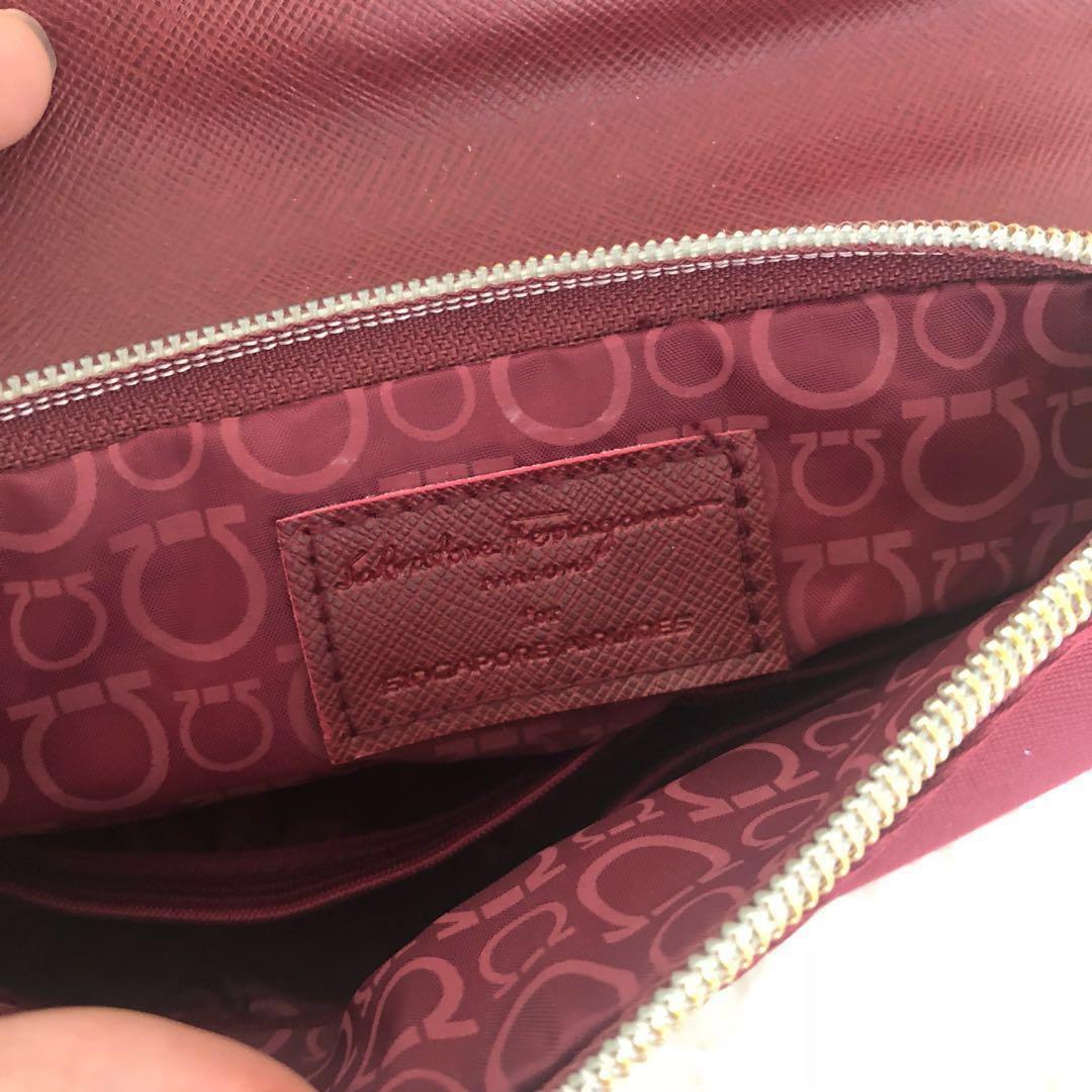 Salvatore Ferragamo Pouch Bag mini clutch Perfume