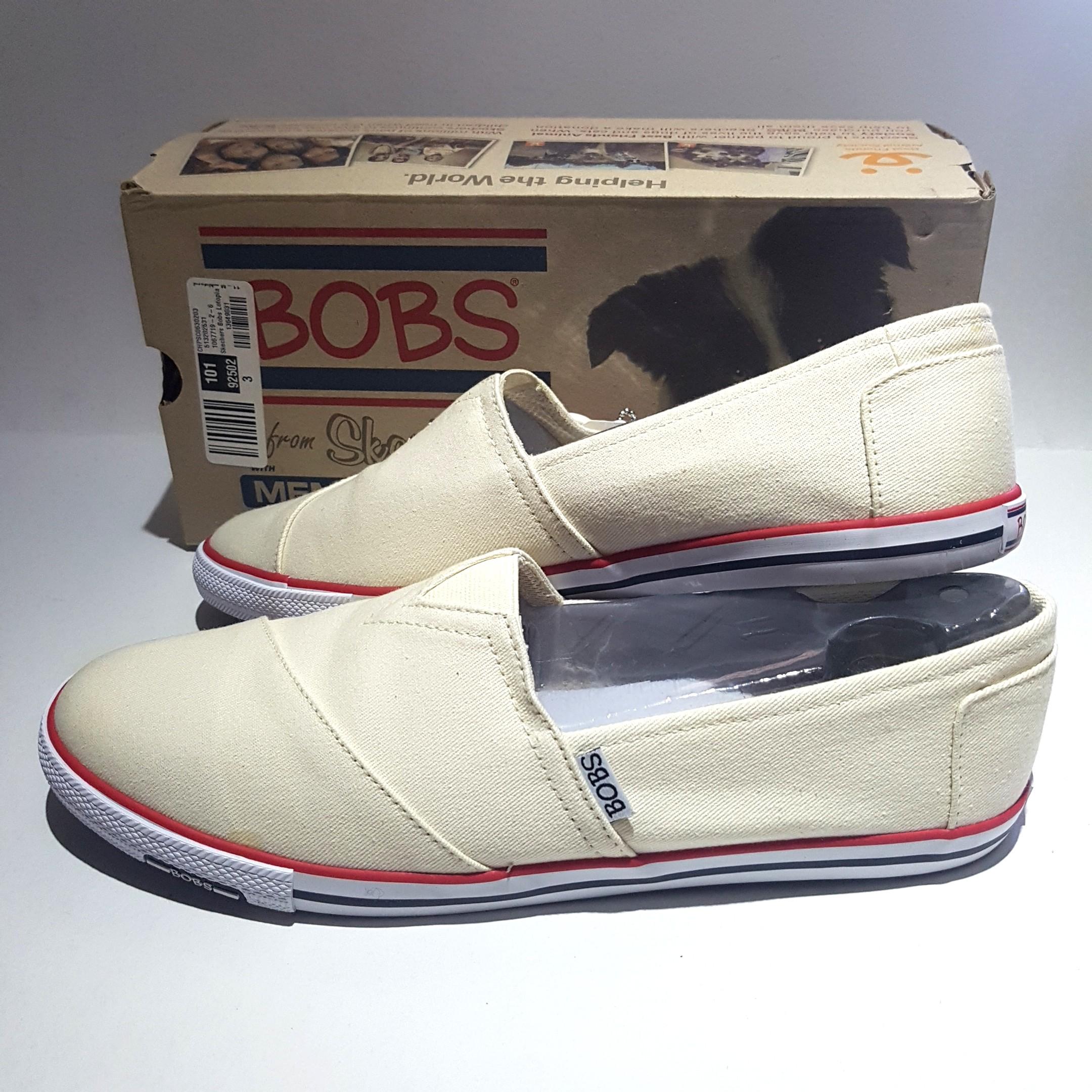 47c1e2fdd73 Skechers BOBS Lotopia Pleasantville Natural slip on shoes sz 11 ...