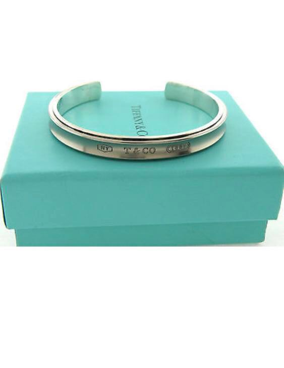 627f2224d Tiffany & Co 1837 Cuff(BE0074), Luxury, Accessories, Others on Carousell
