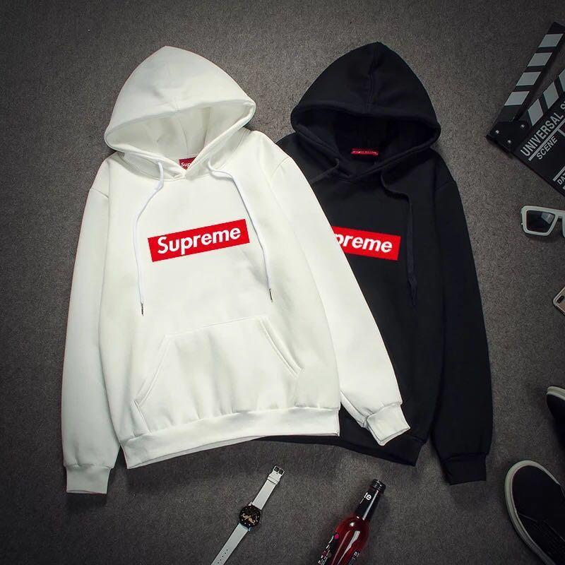 8ea8d81753ec Unisex Supreme Hoodie Long sleeve pullover