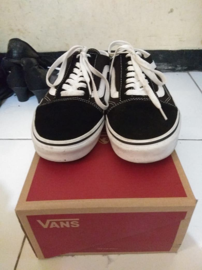 b128b0356d Vans Old Skool Mule Black  True White