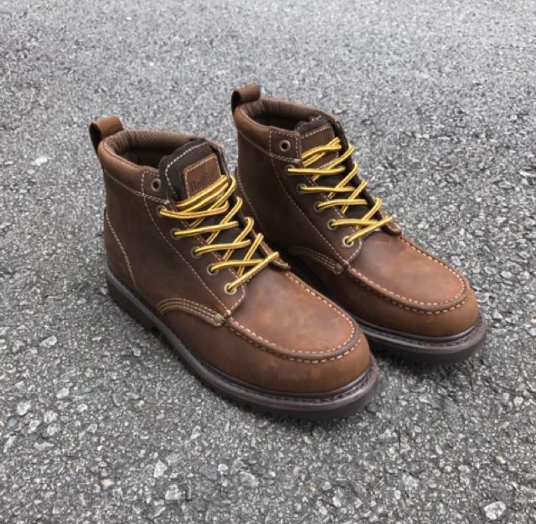 24f4299eb1c47 Work boots insolent, Men's Fashion, Footwear, Boots on Carousell