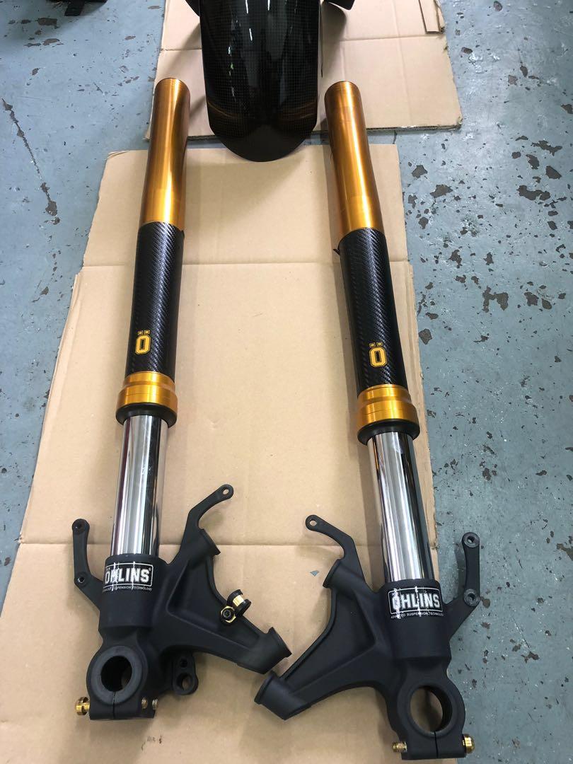 Yamaha R1 2015+ KYB L+R adjustable front forks