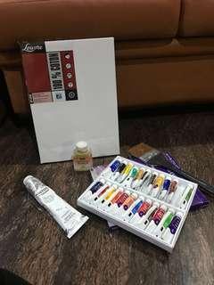 1 set oil color