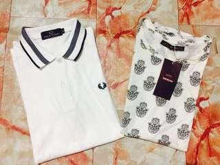 💛 Polo Fred Perry And Bershka Tshirt