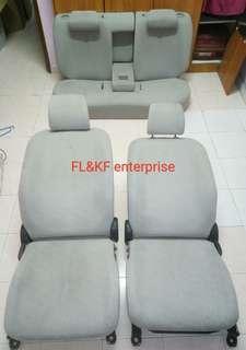 Seat toyota belta vios ncp93