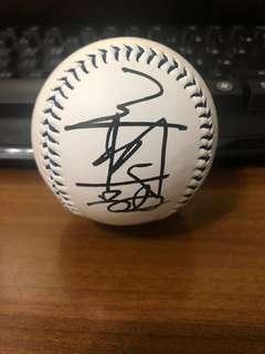 🚚 王柏融親筆簽名球(桃猿logo紀念球)