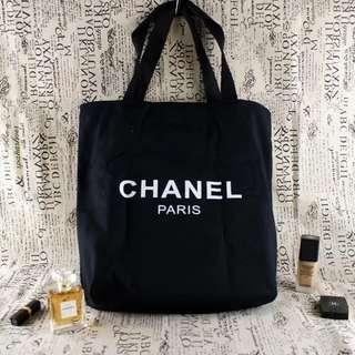Chanel tote bag 便携帆布購物袋
