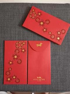 Red Packet/ ang pao/ sampul raya coach
