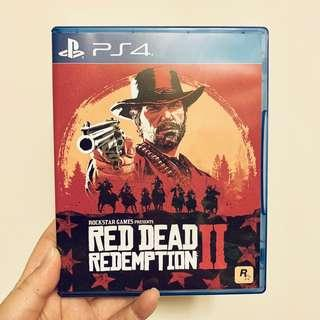 PS4 Game Red Dead Redemption II