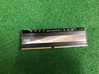 AVEXIR 8GB ddr4 2666mhz white led ram
