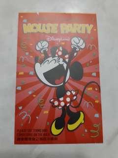 迪士尼樂園入場券門票 (已用供收藏)
