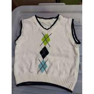 White Knit Vest