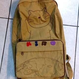 🚚 KIRO貓咪可收納後背包