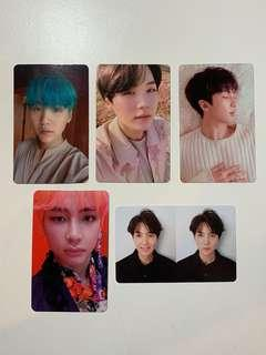 WTT BTS love yourself photocards