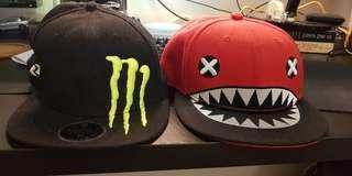 Monster Energy & Stinko Snapback Cap