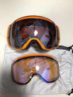 Smith i/o7 goggles with spare lens