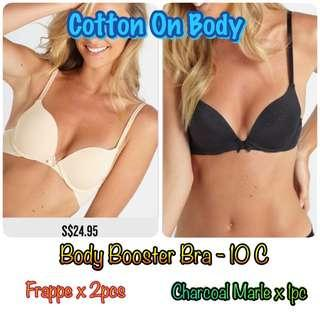 🚚 Cotton On Body - Smooth Body Booster Bra 10C 70C 32C