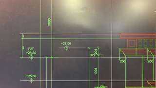 CAD 平面圖設計及繪製