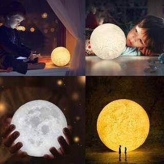 Moon Light LED 3D Lamp
