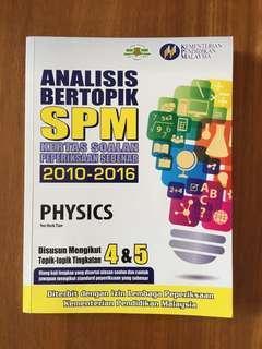 Physics Kertas Peperiksaan SPM 2010-2016