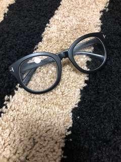 🚚 二手黑框 復古大框 眼鏡 男女眼鏡框