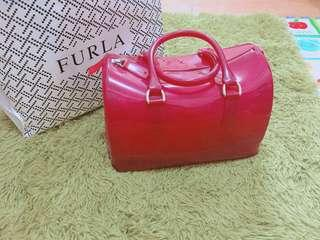 Authentic Furla Jelly Bag