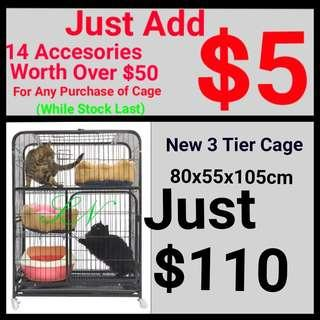 Cat Cage Pet Cage Thick Metal Iron Great Deal Best Among Seller