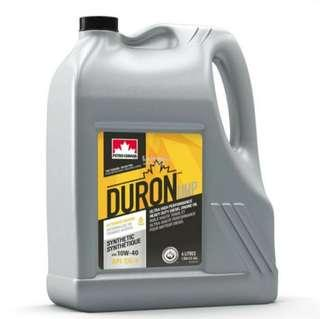 Petro Canada Duron UHP 10W40 Fully Synthetic Heavy Duty Engine Oil (4L)