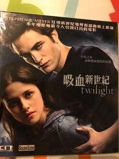 Twilight吸血新世紀VCD全新