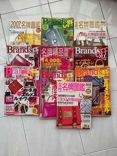 Magazine Collection Luxury and Branded