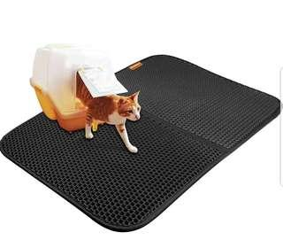XLARGE SIZE & LATEST IMPROVEMENT Cat Trapping Mat Sand Litter