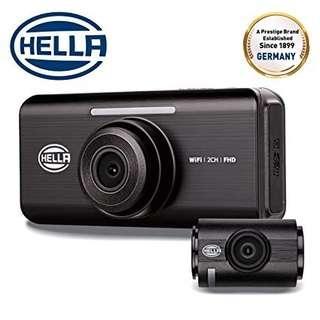 🚚 Hella Dr820 2 Channel Full HD Car Dvr Camera