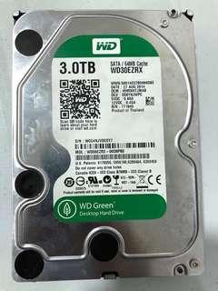 Western Digital 3TB HDD WD30EZRX