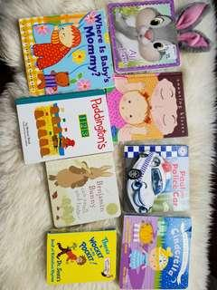 Free with any purchase. Counting kisses by Karen Katz was my babys favourite. $1 to 1. PU Gerrard and Main.
