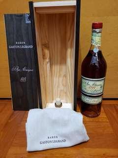 古酒男爵加斯頓羅格朗Baron G.Legrand 1998木盒700ml