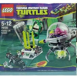 MISB 全新 Lego 79100 Ninja Turtles 忍者龜系列 Kraang Lab Escape (100%靚盒)