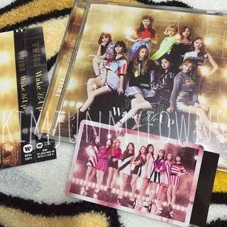 TWICE Wake Me Up Japanese Version Album with Official Group Photocard